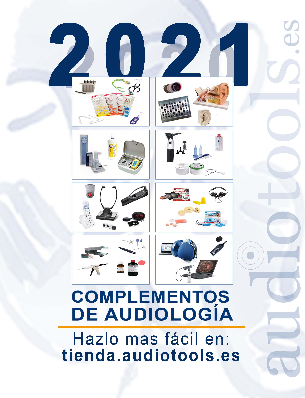 Catálogo accesorios audiología audiotools 2021