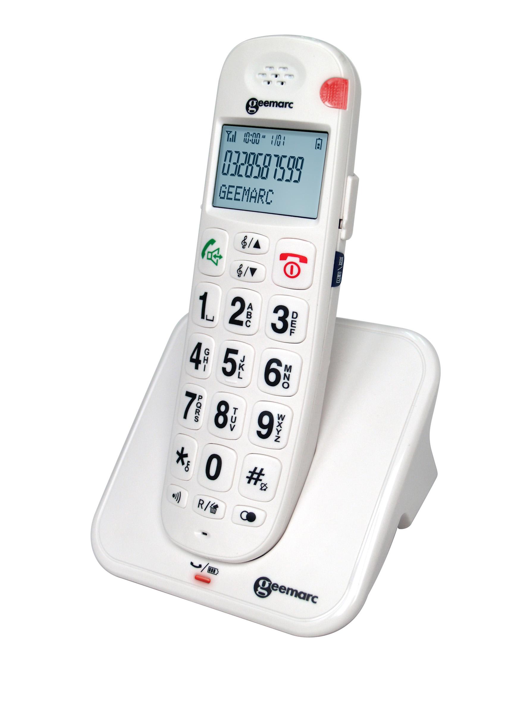 Geemarc AmpliDECT 260 teléfono inalambrico compatible con audífonos