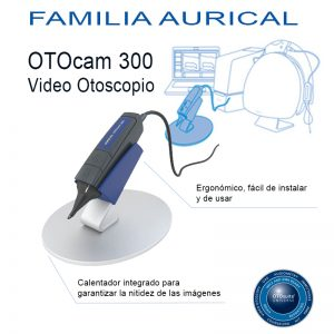 sistemas de adaptación audífonos vídeo otoscopio otocam 300