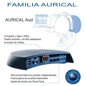 Sistemas de Adaptación de Audífonos, Audiómetro aud familia aurical otometrics